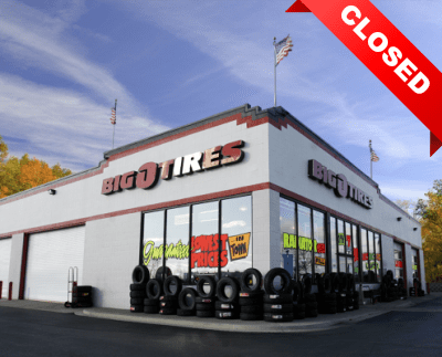 Big O Tires - Closed